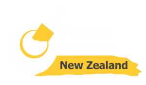 Master Painters New Zealand Logo - reverse